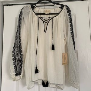 NWT Ralph Lauren Denim & Supply peasant blouse